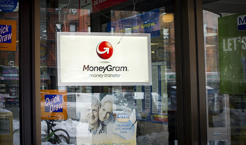 storefront of Moneygram #43586264